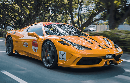 used Ferrari car image