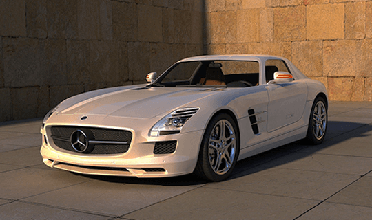 Used Mercedes car image