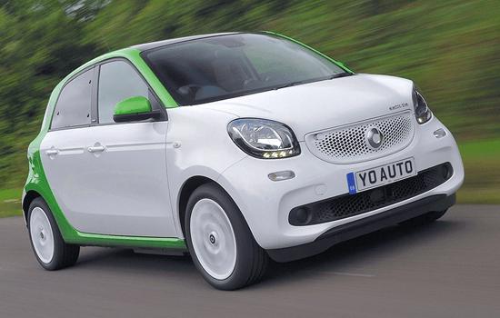 used Smart car image