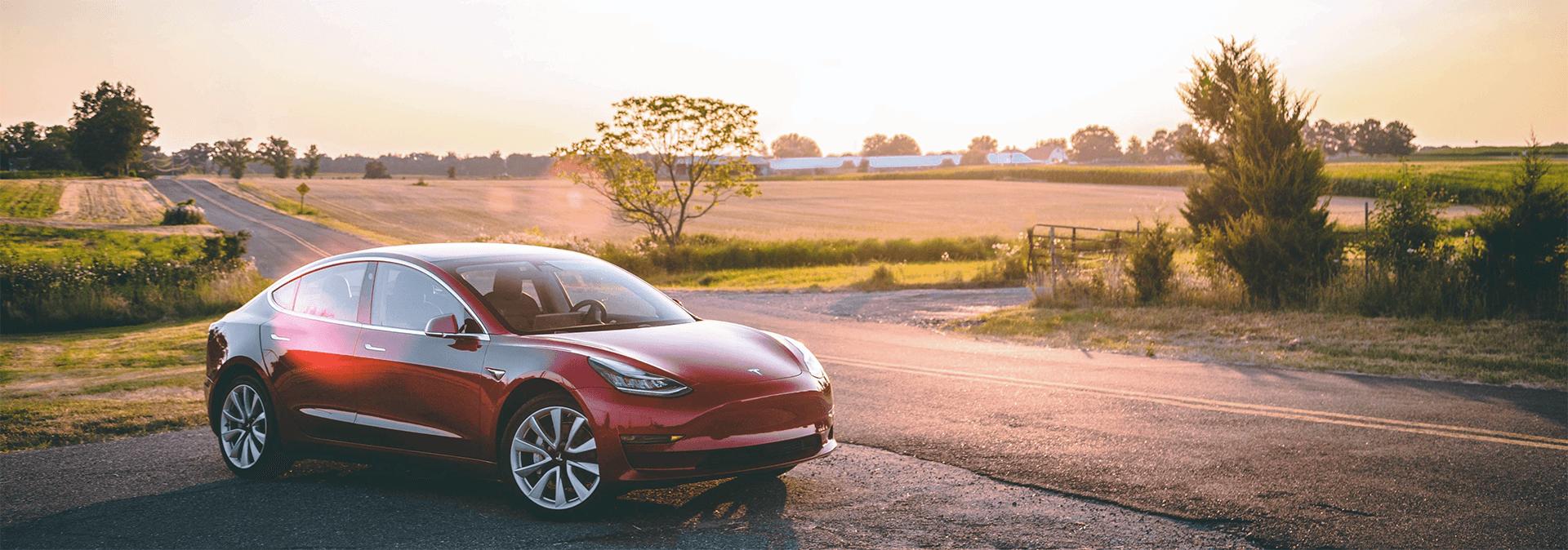 Used Tesla car image